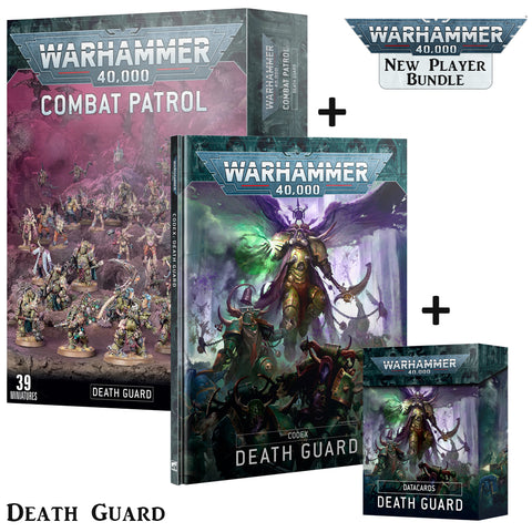 Death Guard Chaos Space Marines Combat Patrol Starter Bundle