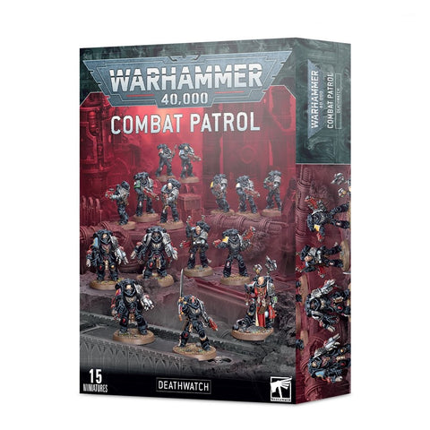Combat Patrol - Deatrhwatch (Warhammer 40,000) :www.mightylancergames.co.uk