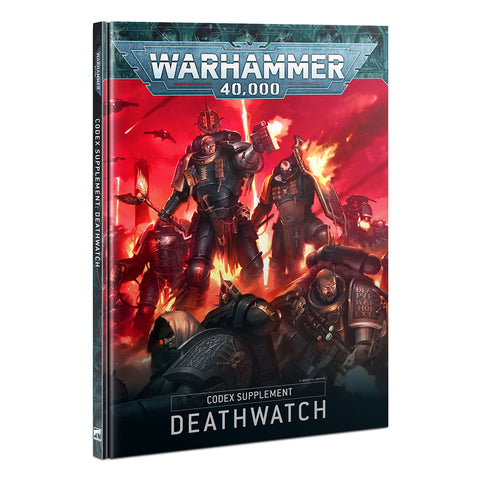 Codex Supplement Deathwatch With Damaged Corners