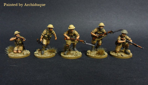 Perry Miniatures Ww2 British Desert Rats 8th Army