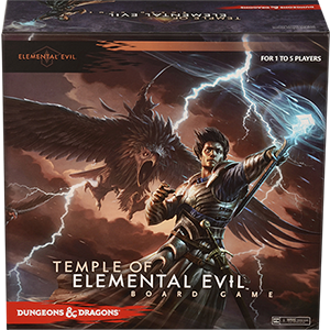 Temple of Elemental Evil - board game
