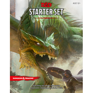 D&D Starter Set: Fantasy Roleplaying Tabletop Game