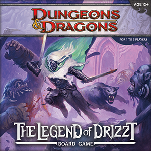The Legend of Drizzt - board game