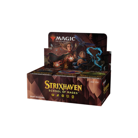 Draft Booster Box Strixhaven School of Mages MTG