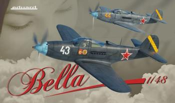 Eduard Kit 1:48 Ltd Edition -Bella, Airacobra Dual Combo: www.mightylancergames.co.uk