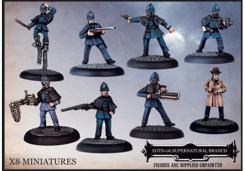 London Bobbies set 2 Supernatural Branch Faction Starter - Empire of the Dead