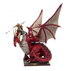 Elf Dragon Kindred Lord - Elves (Kings of War) :www.mightylancergames.co.uk