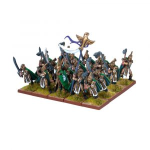 Palace Guard Regiment - Elves (Kings of War) :www.mightylancergames.co.uk