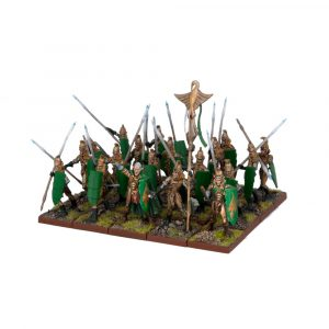 Elf Spearmen Regiment - Elves (Kings of War) :www.mightylancergames.co.uk