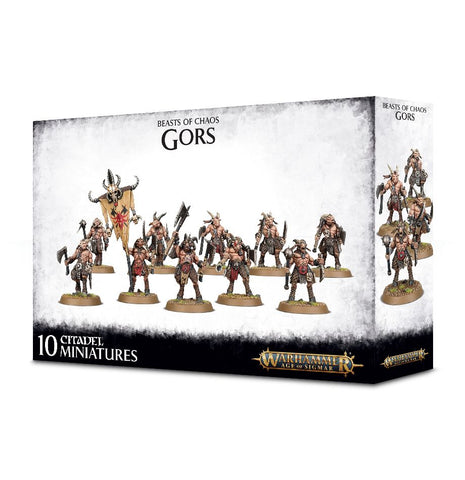Age of Sigmar: Beasts of Chaos: Breyherds Gors: www.mightylancergames.co.uk