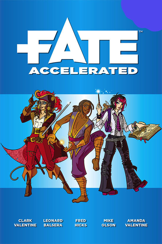 Fate Accelerated - Fate Core System :www.mightylancergames.co.uk