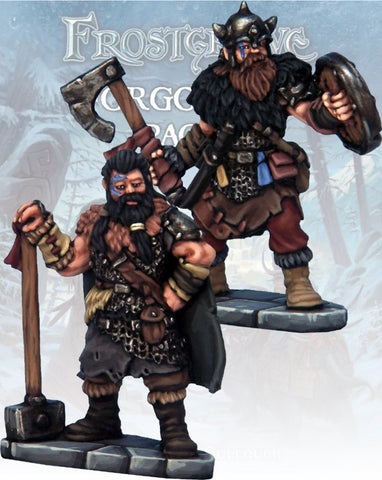 Frostgrave: Barbarian Knight & Templar: www.mightylancergames.co.uk