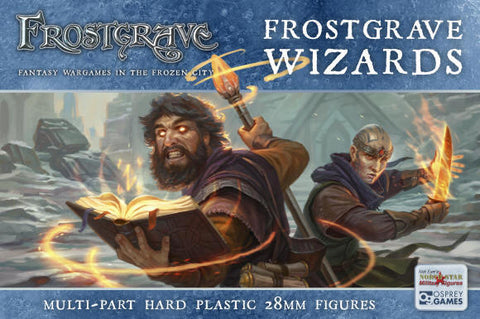 Frostgrave - Wizards Box set: www.mightylancergames.co.uk