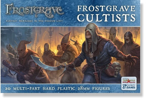 Frostgrave Cultist: www.mightylancergames.co.uk