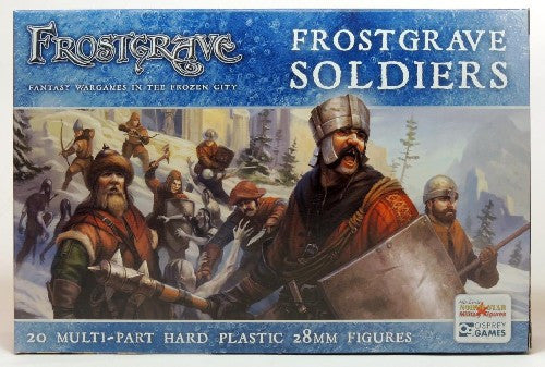 Frostgrave - Soldiers Boxed Set: www.mightylancergames.co.uk