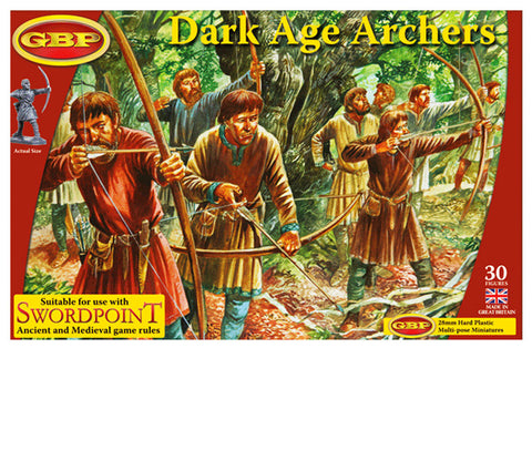 Dark Age Archers - Gripping Beast Plastics :www.mightylancergames.co.uk