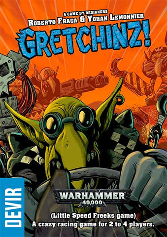 Gretchinz! - Roberto Fraga & Yohan Lemonnier: www.mightylancergames.co.uk
