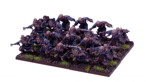 Undead Ghoul Regiment - Undead (Kings of War) :www.mightylancergames.co.uk