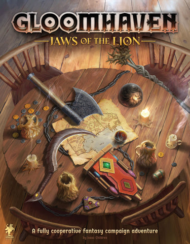 Gloomhaven - Jaws of the Lion :www.mightylancergames.co.uk