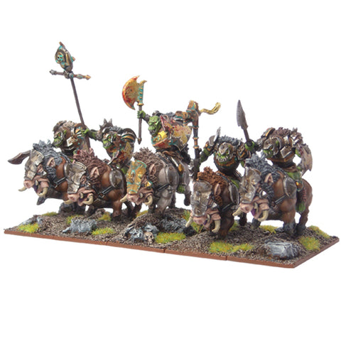 Gore Riders - Orc (Kings of War) :www.mightylancergames.co.uk