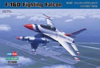 F-16D Fighting Falcon - HobbyBoss 1/72 :www.mightylancergames.co.uk