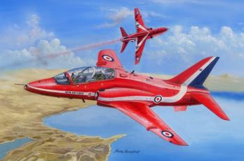 Hobbyboss 1:48 - Red Arrows Hawk MK1/1a: www.mightylancergames.co.uk