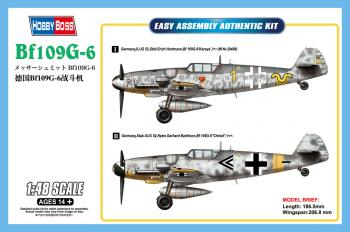 Hobbyboss 1/48 Messerschmidt Bf109G-6: www.mightylancergames.co.uk