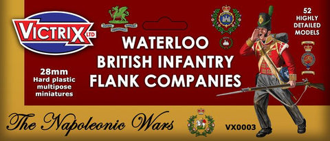 Waterloo British Infantry Flank Companies (Victrix VX0003)