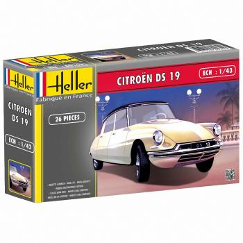 Heller 1/48 - Citroen DS 19: www.mightylancergames.co.uk