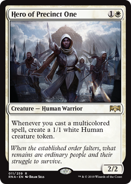 Hero of Precinct One - Foil
