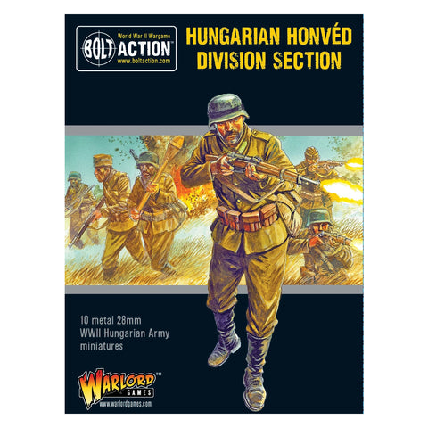 Bolt Action Hungarian Honved Division Section