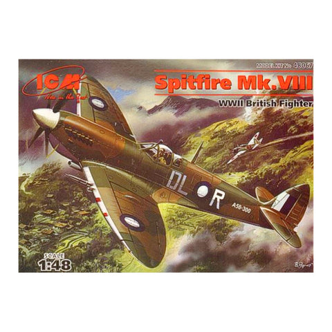 Creative Models Mk VIII SPitfire Scale Model