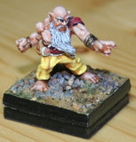 Reaper DHL 03044: Burl Oakfist, Dwarf Monk: www.mightylancergames.co.uk