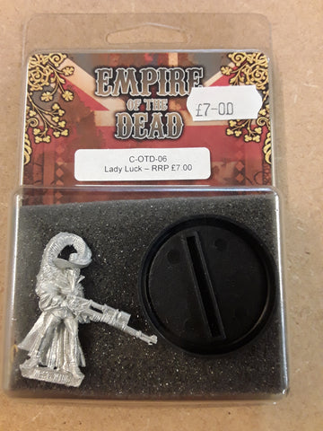 Lady Luck - Westwind Empire of the Dead: www.mightylancergames.co.uk