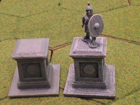 28mm Statue Plinth x 2