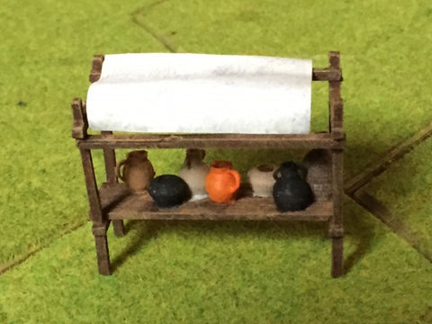Market Accessories - Pots & Jugs (Irongate IG00115) :www.mightylancergames.co.uk