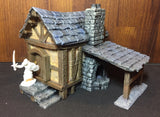 Fantasy Forge 28mm fantasy terrain Blacksmith workshop