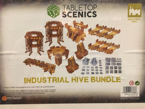 Industrial Hive Bundle - Tabletop Scenics