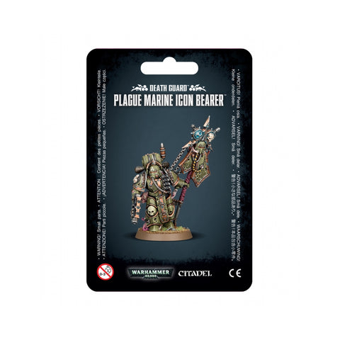 Plague Marine Icon Bearer Mighty Lancer Games