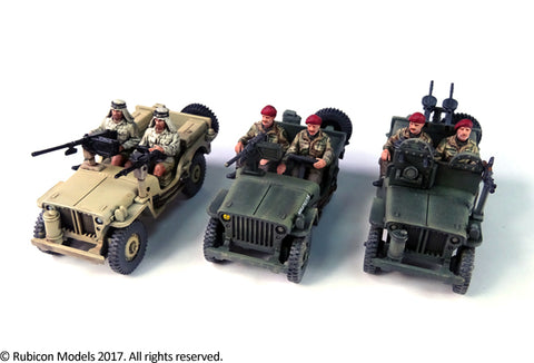 rubicon Willys MB british  commonwealth jeep