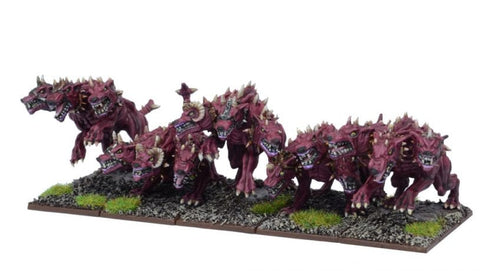 Hellhounds - Kings of War :www.mightylancergames.co.uk
