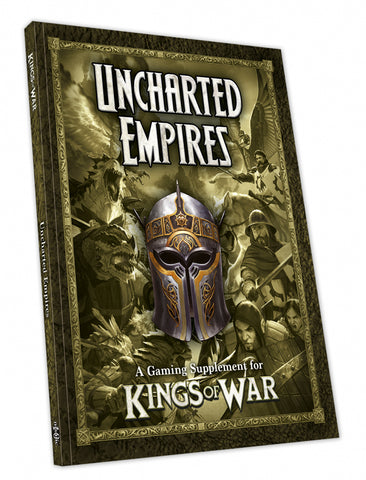 Kings of War Uncharted Empires - Third Edition (Softback) :www.mightylancergames,co.uk