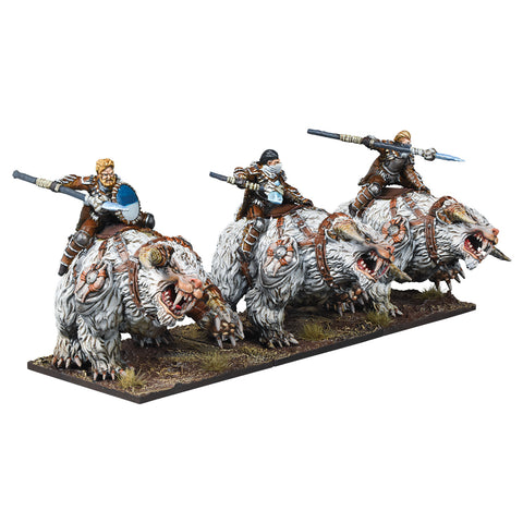 Frost Fang Cavalry Regiment - Northern Alliance (Kings of War) :www.mightylancergames.co.uk