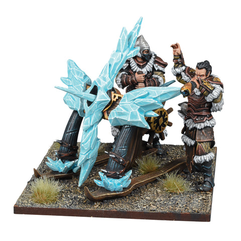 Ice Kin Bolt Thrower - Northern Alliance (Kings of War) :www.mightylancergames.co.uk