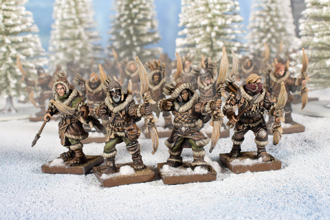 Pack Hunters Regiment - Northern Alliance (Kings of War)