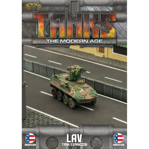 Tanks, The Modern Age - LAV Expansion