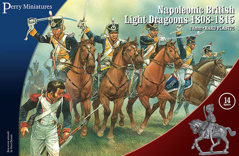 Napoleonic British Light Dragoons 1808-15 - Perry Miniatures (BH90) :www.mightylancergames.co.uk