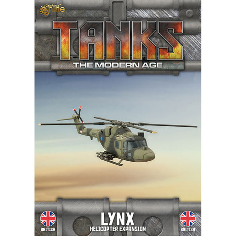 Tanks, The Modern Age - Lynx Helicopter