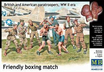 Masterbox 1:35 - British and American Paratroopers 'Friendly Boxing Match (Master Box): www.mightylancergames.co.uk