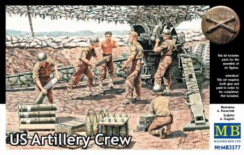 US Artillery Crew - Masterbox 1:35: www.mightylancergames.co.uk